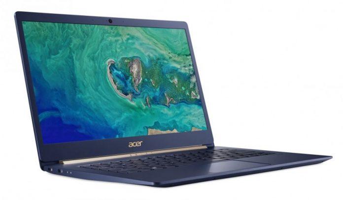 В Россию приехал ультралегкий ноутбук Acer Swift 5