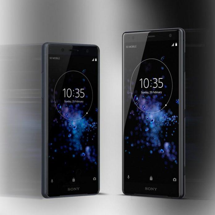Sony представила смартфоны Xperia XZ2 и Xperia XZ2 Compact