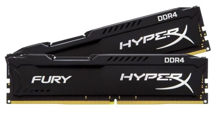Тест и обзор Kingston HyperX Fury 2x 8GB DDR4-2666: 16 Гбайт RAM по оптимальной цене