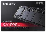 Samsung SSD 960 Pro M.2 512GB