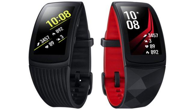 Samsung Gear Fit2 Pro: с продолжительностью времени автономной работы, превышающей три дня, а также большим количеством сменных браслетов, этот фитнес-трекер хорошо подходит для любого случая