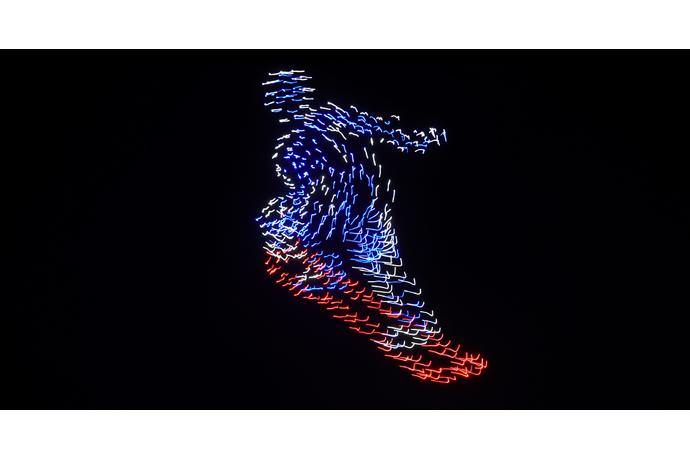 На открытии Олимпиады Intel устроила рекордный «танец» дронов