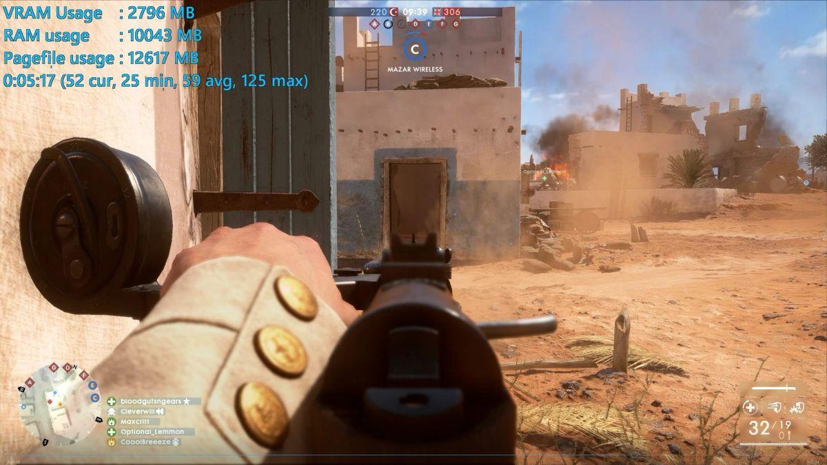 Battlefield 1 - GeForce GTX 1060 3GB