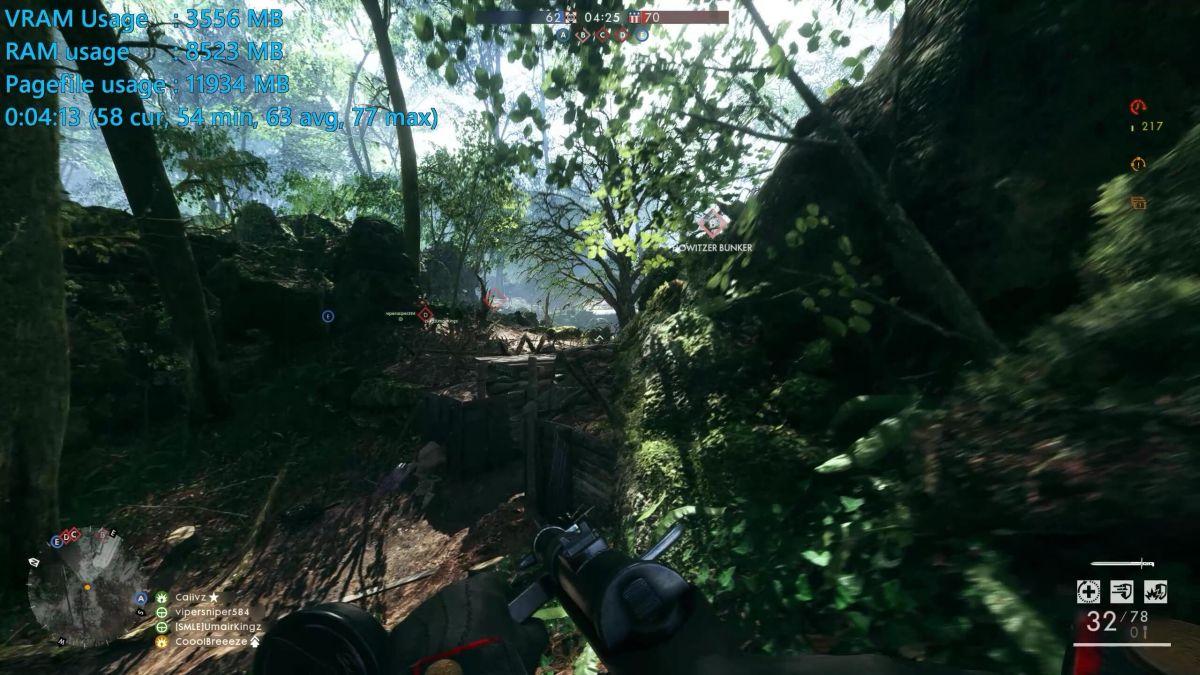 Battlefield 1 - GeForce GTX 1060 6GB