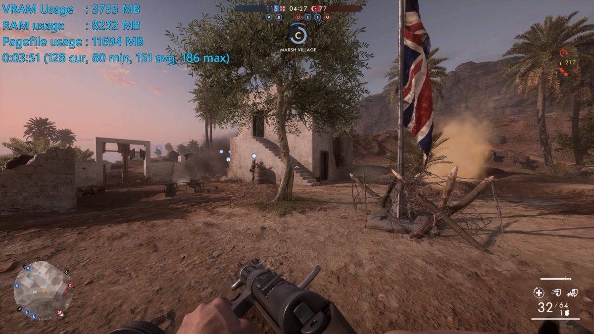 Battlefield 1 - GeForce GTX 1080 Ti 11GB