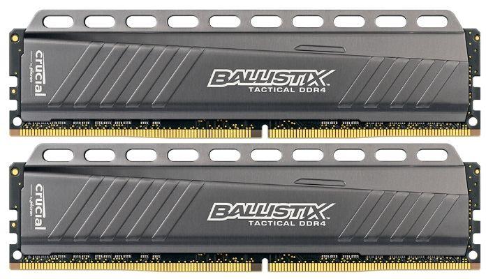 Мини-тест оперативной памяти Crucial Ballistix Tactical 2x 8GB DDR4-3000
