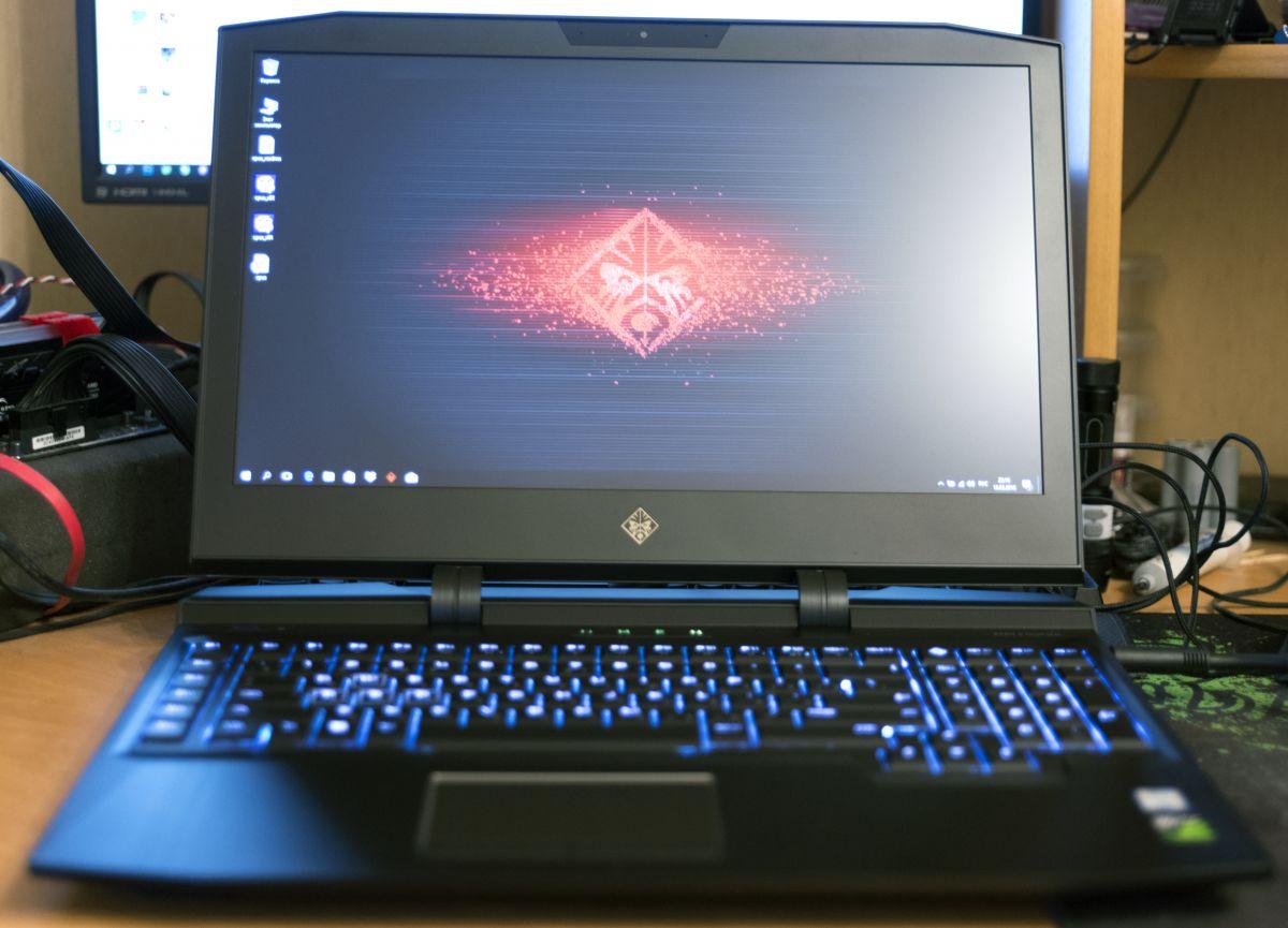 HP Omen X 17ap004ur - загрузка ОС