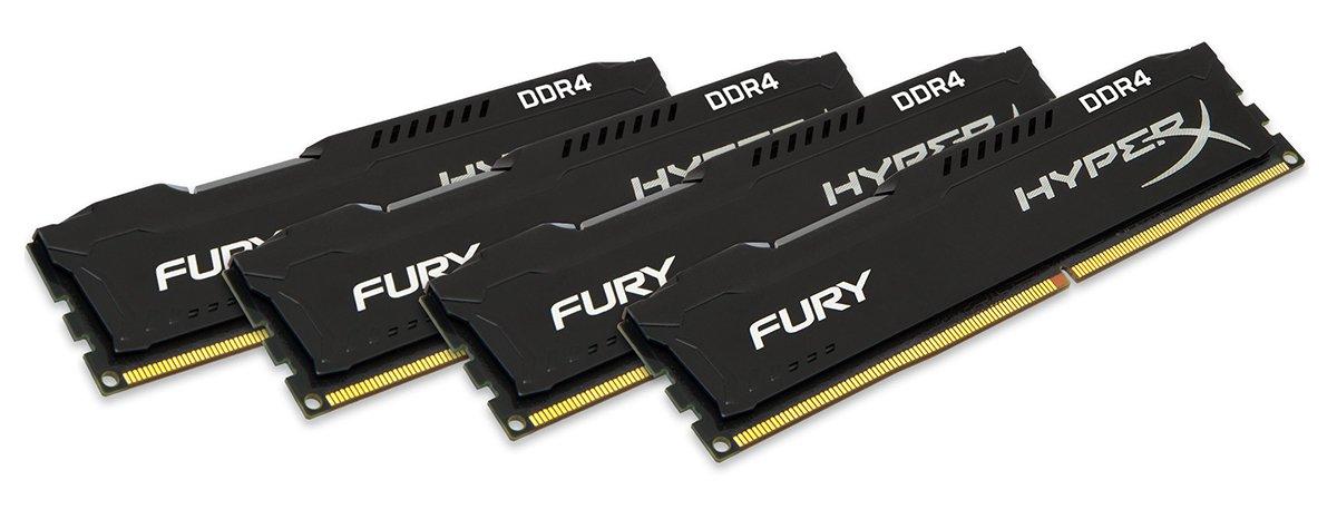 Kingston HyperX Fury Black 16GB DDR4-2133