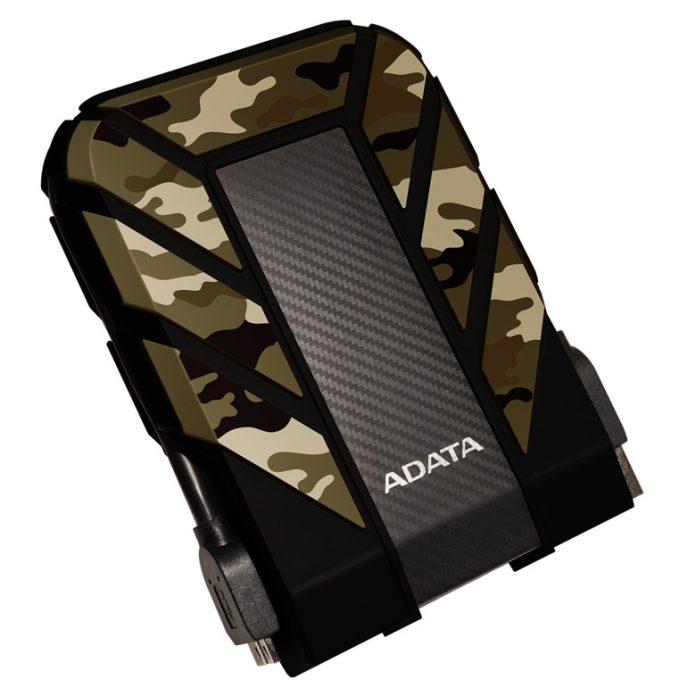 Adata представила особо прочные внешние накопители HD710M Pro и HD710A Pro