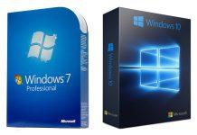 Windows 10 обогнала Windows 7 по популярности в глобальном масштабе