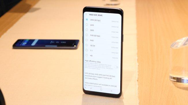S9 снимает UHD-видео со скоростью до 60 кадров в секунду- но стабилизации видеоизображения у камеры больше нет