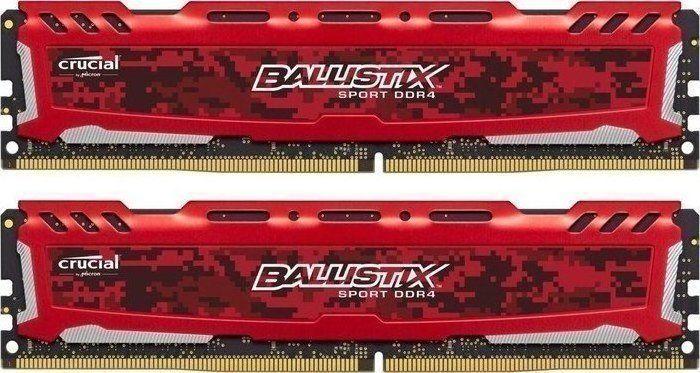 Тест и обзор оперативной памяти Crucial Ballistix Sport LT 2x 4GB DDR4-2400: 10 лет гарантии