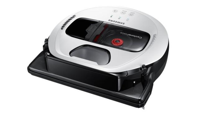 Благодаря камере на верхней стороне пылесоса и ультразвуковым датчикам на передней, Powerbot уверенно ориентируется в пространстве