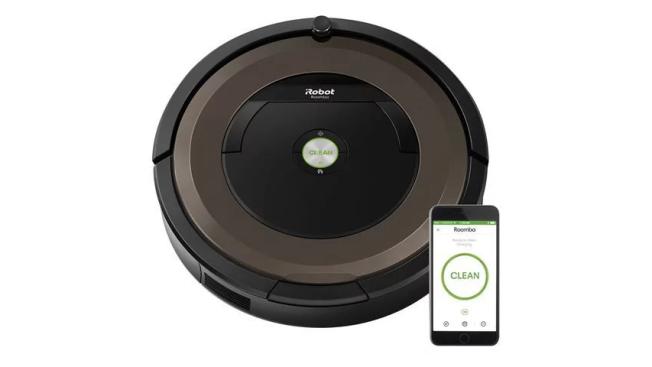 Roomba 896 можно легко настроить с помощью смартфона