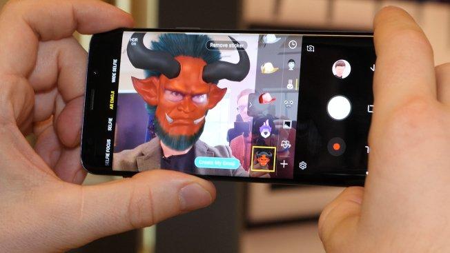 С Galaxy S9 можно оживить анимационных персонажей собственной мимикой