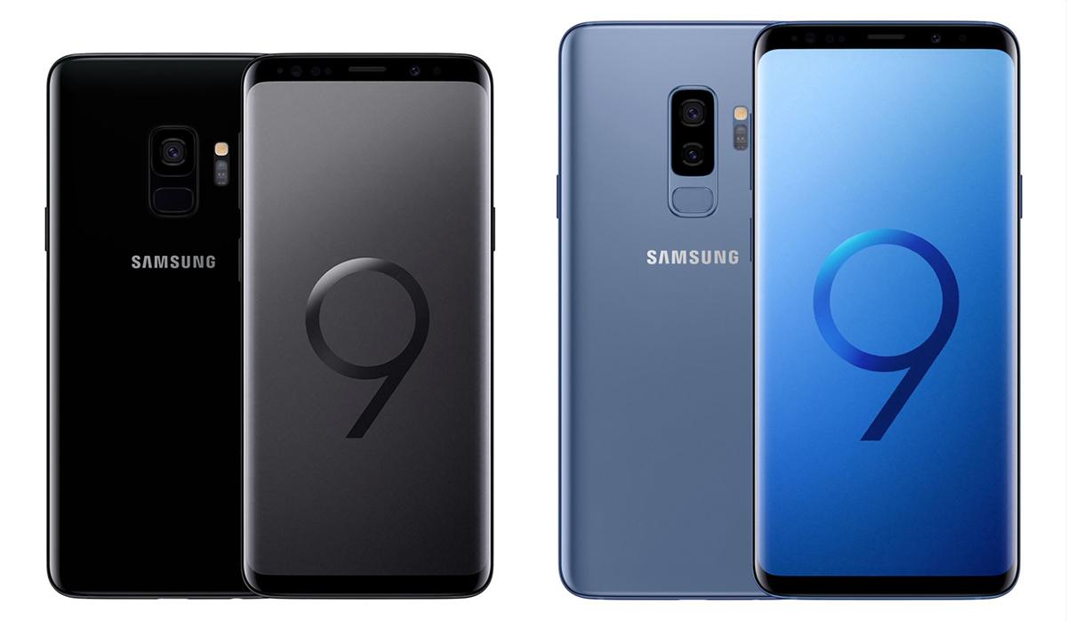 Galaxy S9 и Galaxy S9 Plus