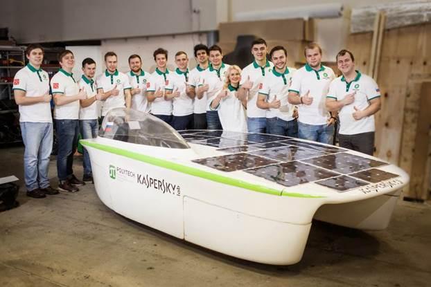 «Лаборатория Касперского» поможет в разработке российского солнцемобиля