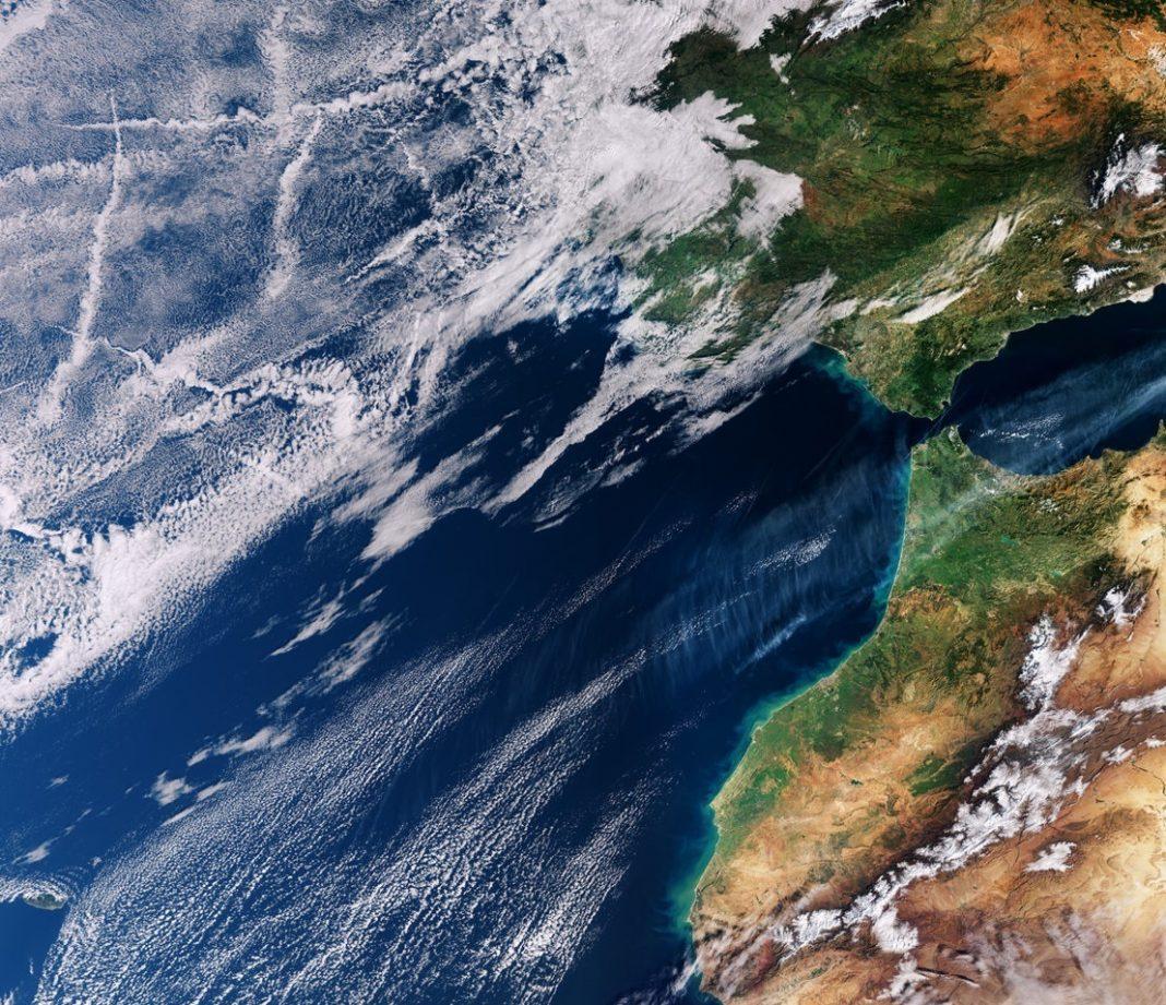 Поразительной красоты фотография была сделана из Космоса