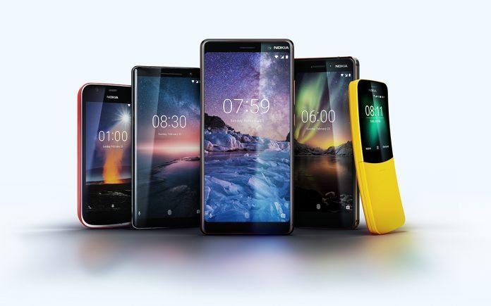 Nokia представила 5 новых смартфонов на базе «чистой» ОС Android One