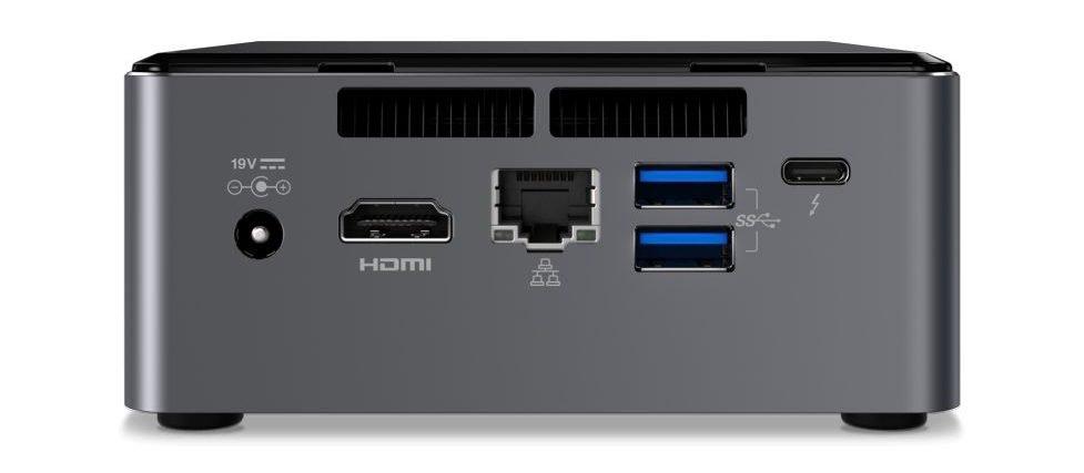 Мини-ПК Intel NUC Kit оснащен новым интерфейсом USB Typе-C с поддержкой протокола Thunderbolt