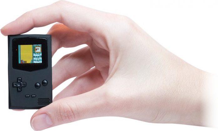 PocketSprite — легендарный Game Boy размером с коробок спичек