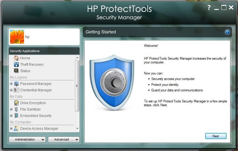 Секреты современных PC 2.0: пароль, отпечаток и ИК-профиль на страже данных