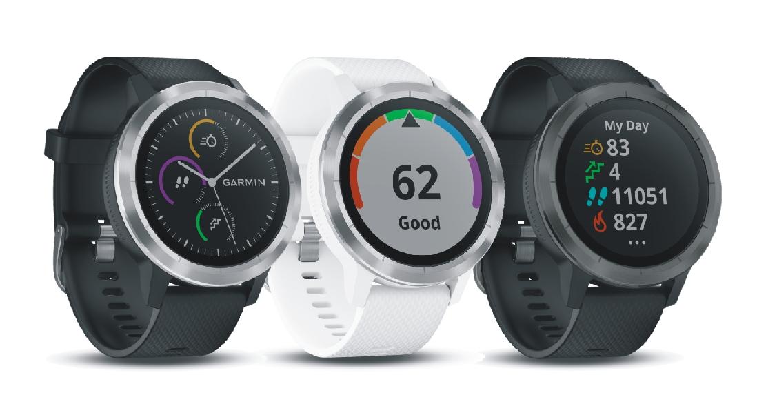 Новый трекер от Garmin выглядит как обычные наручные часы