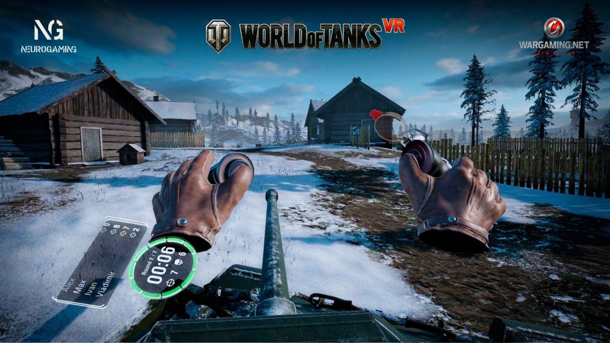 World of Tanks VR - скриншот игры