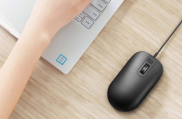Xiaomi анонсировала мышь с дактилоскопическим сканером