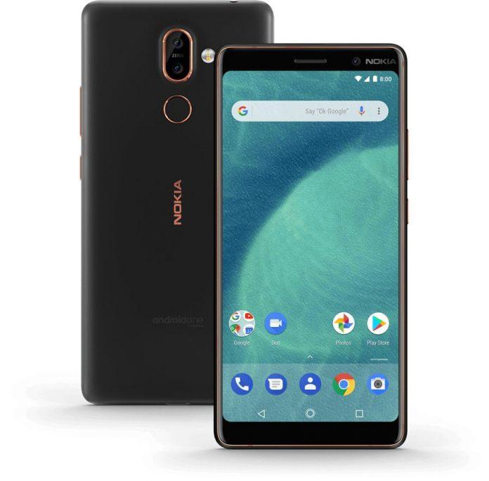 Названы российские цены новых смартфонов Nokia 7 plus и Nokia 6.1