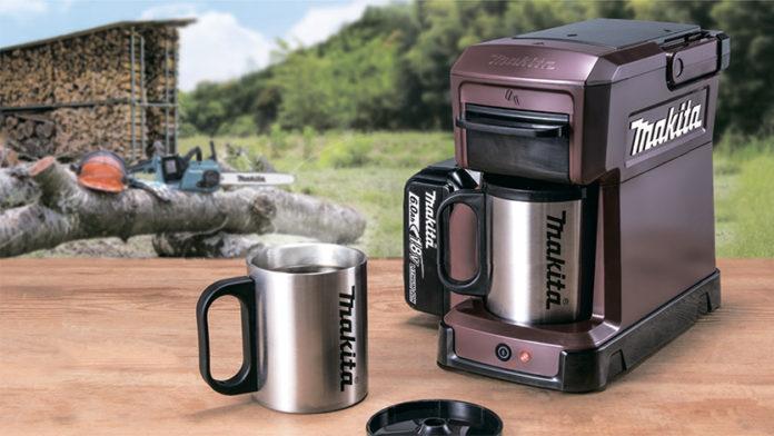 Производитель электроинструментов Makita выпустил необычную кофеварку