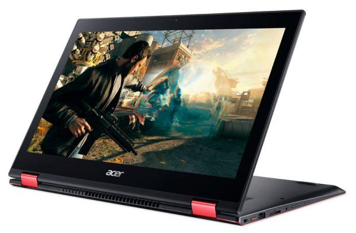В России начались продажи игрового ноутбука-перевертыша Acer Nitro 5 Spin
