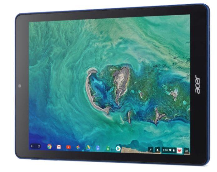 Представлен первый в мире планшет на базе Chrome OS