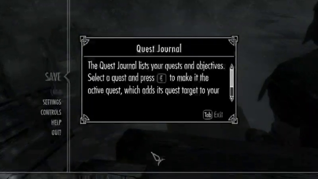 Если у ваших линий связи случится «плохой день», в мелких деталях дело может доходить до безобразных артефактов. Здесь приведен пример искаженного шрифта в «The Elder Scrolls: Skyrim»