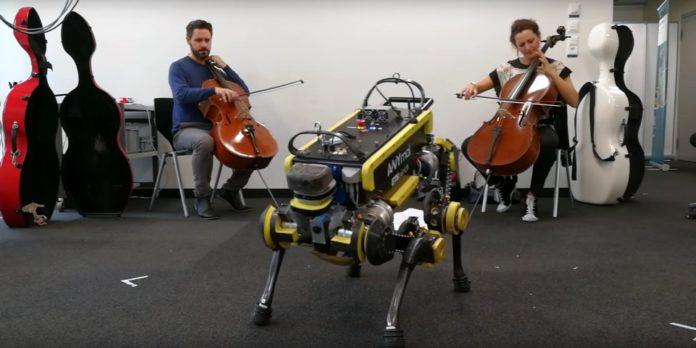 Ученые научили робота танцевать