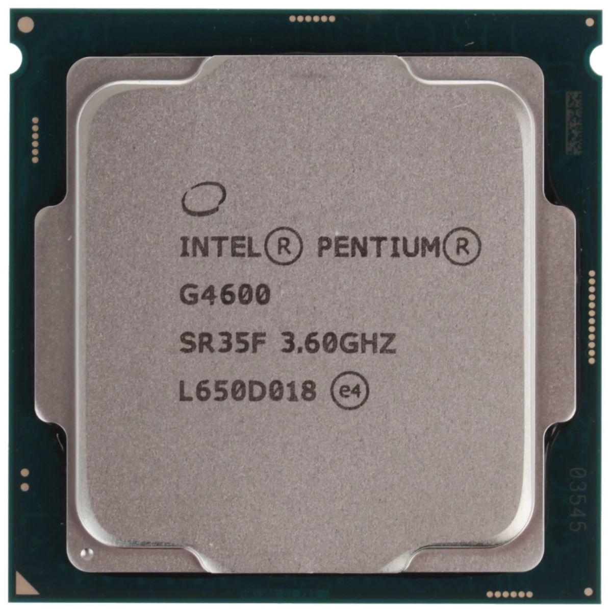 Тест процессора Intel Pentium G4600: пойдет ли для игр?