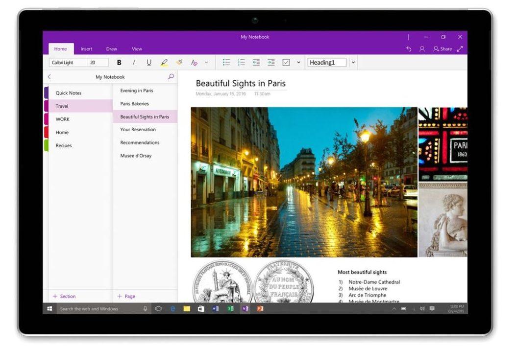 Для чего нужна программа Microsoft OneNote: создаем и синхронизируем заметки
