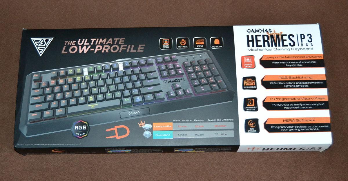 Gamdias Hermes P3 упаковка