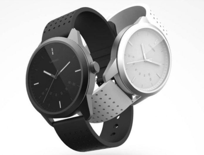 Lenovo представила свои первые гибридные умные часы