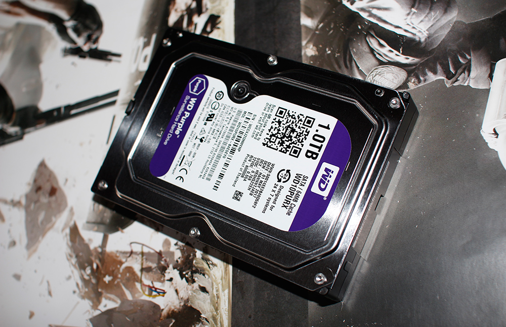 Western Digital Purple 1 TB (WD10PURX)