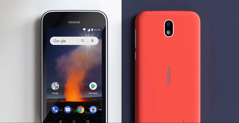 Первые смартфоны на Android Go
