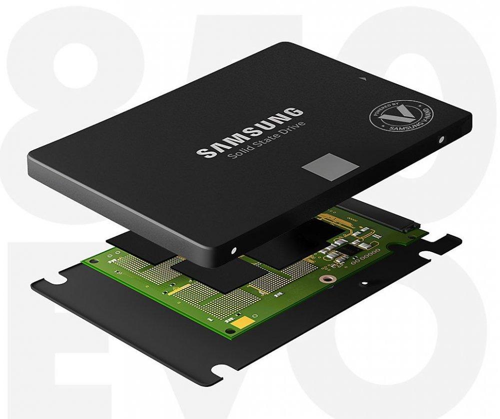 Samsung SSD 850 EVO (basic) Series 4TB