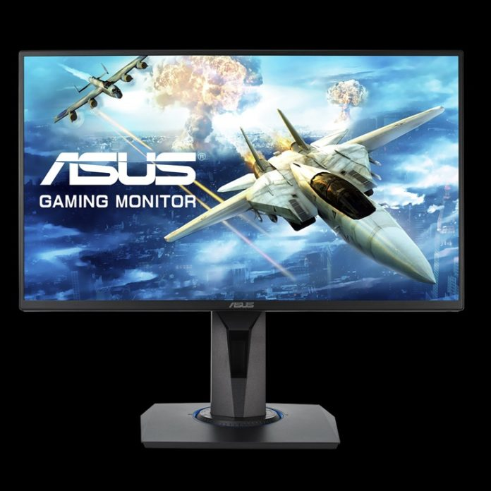 ASUS представила сверхскоростной игровой монитор VG255H