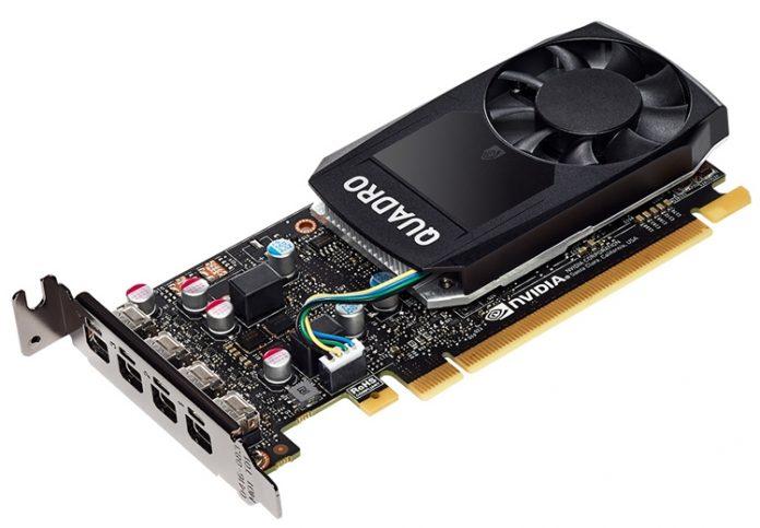 ELSA представила компактную видеокарту Quadro P620