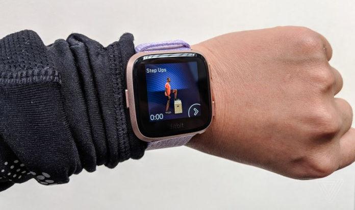 «Умные» часы Fitbit Versa формируют полную картину вашего образа жизни