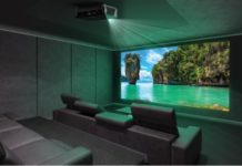 Проектор 4к для домашнего кинотеатра
