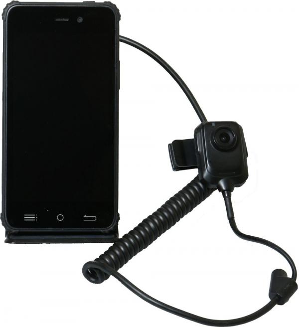 Представлен необычный российский защищённый смартфон с выносной камерой