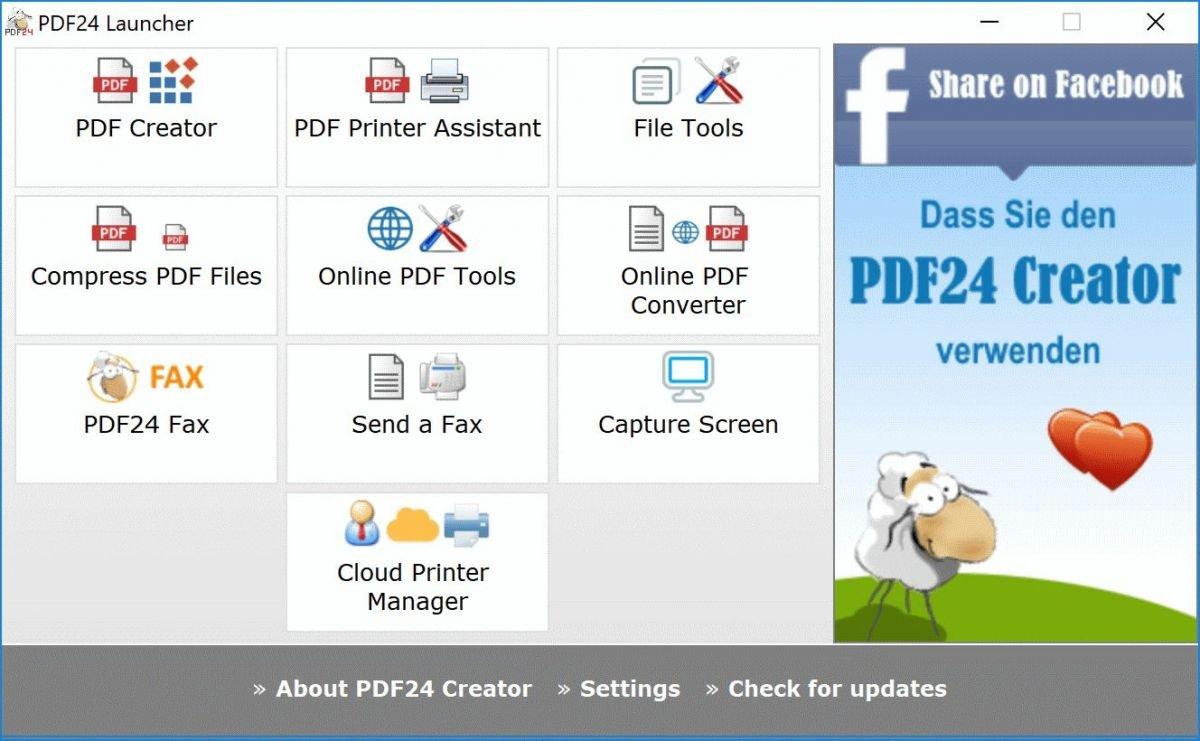 Программа PDF24 Creator поможет вам бесплатно отредактировать документ формата PDF