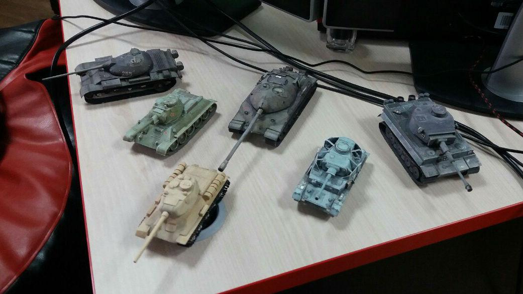 Танки - не просто работа, а настоящее увлечение сотрудников Wargaming