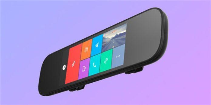 Xiaomi выпустила «умное» зеркало заднего вида